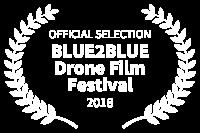 OFFICIAL SELECTION - BLUE2BLUE Drone Film Festival - 2018 Drone Image WA Perth