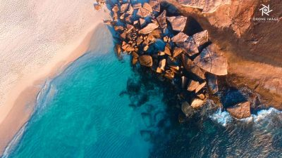 drone-image-esperance-south-coast-beach-rock-ocean