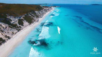 drone-image-wa-beaches-esperance-white-sand-turquoise-ocean