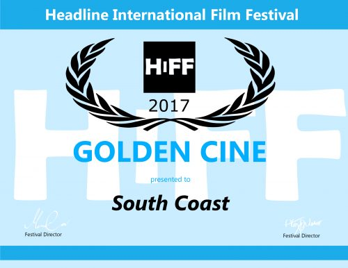 South Coast- HIFF Certificate