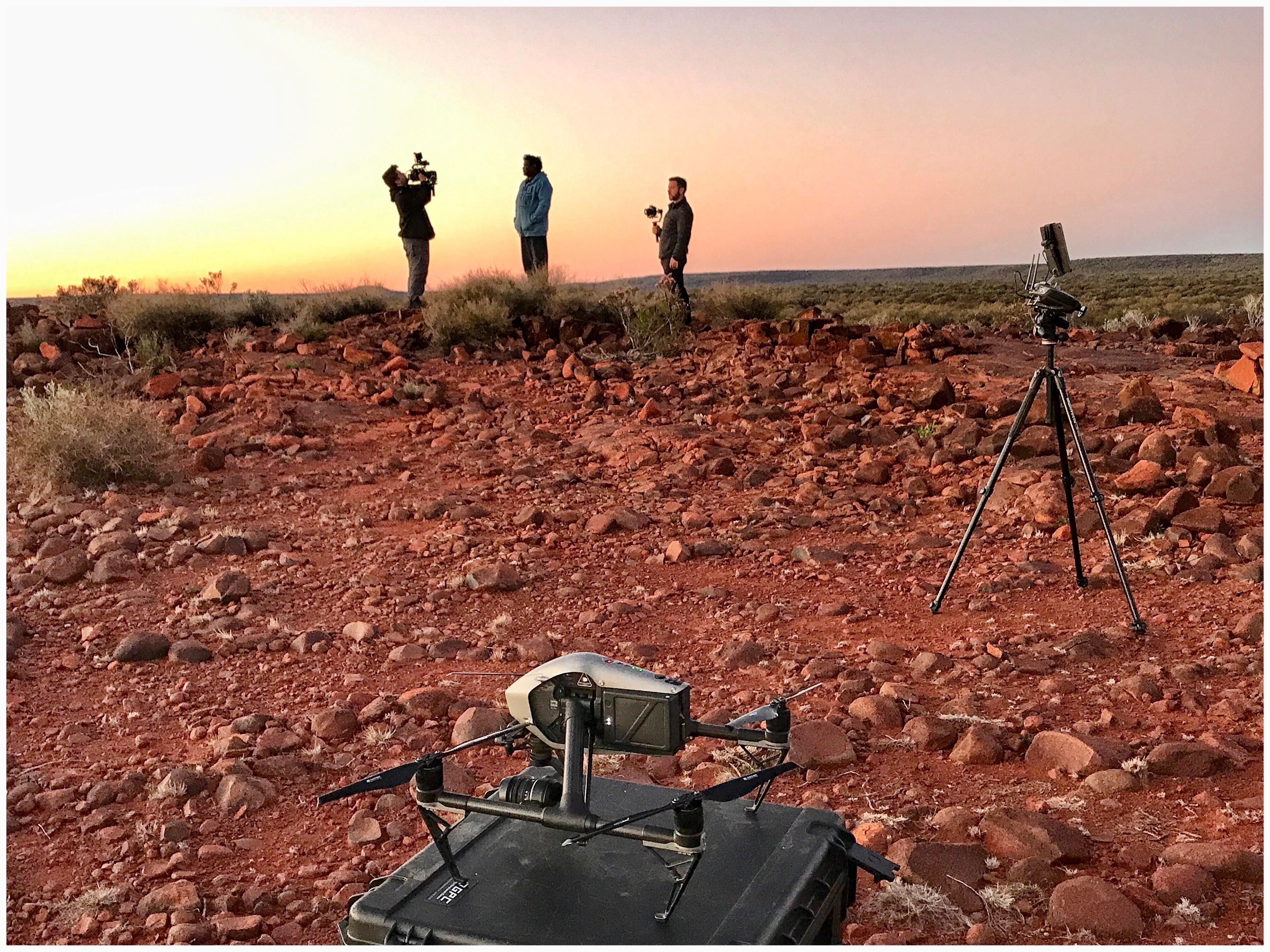 drone image sandalwood wiluna western australia estee lauder documentary the business debate film UN responsible Development Goals 1