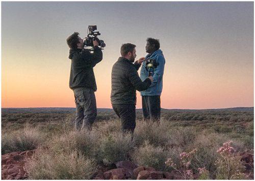 drone image sandalwood wiluna western australia estee lauder documentary the business debate film UN responsible Development Goals 2