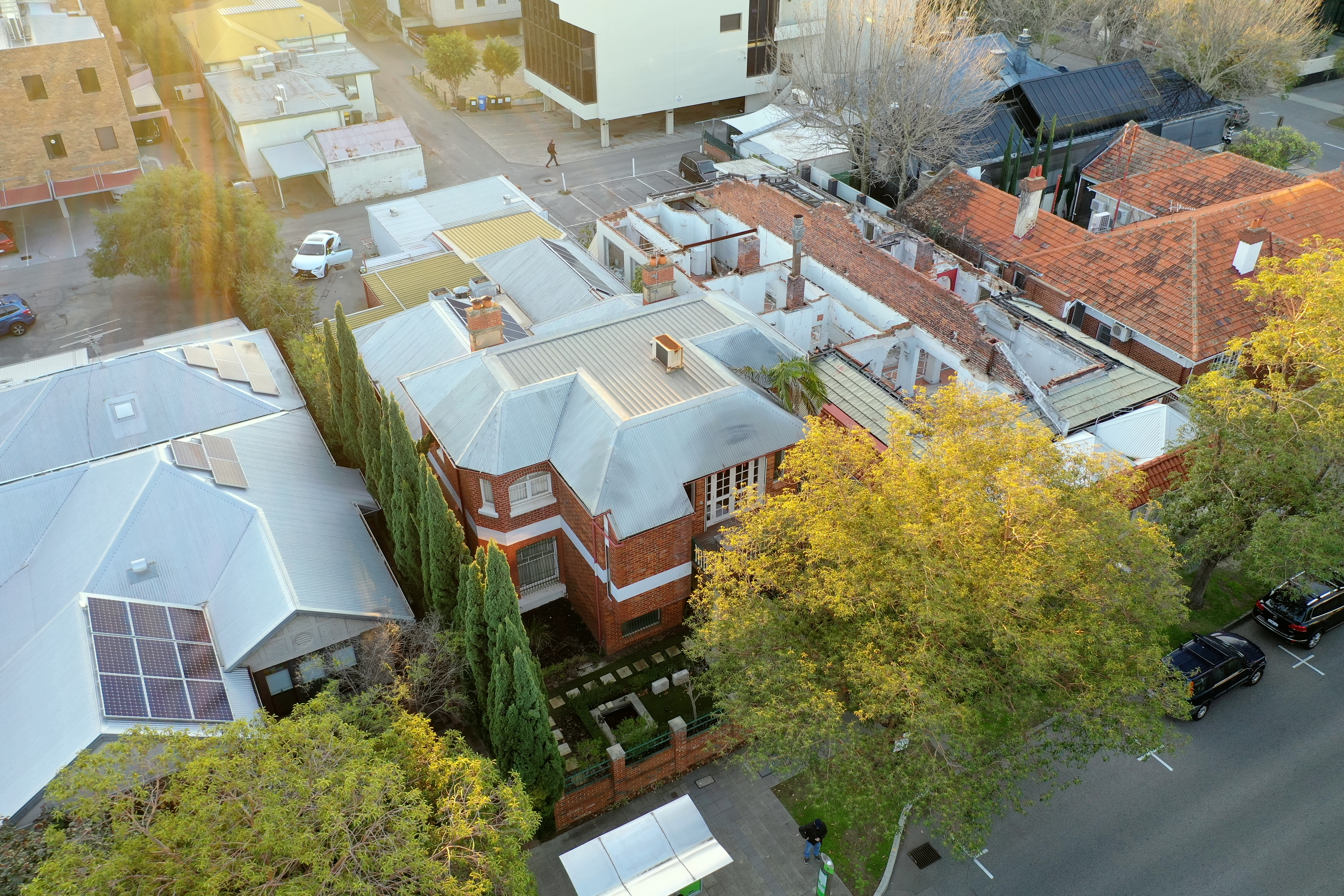 Drone Image Perth Commercial Property Photography Subiaco West Perth