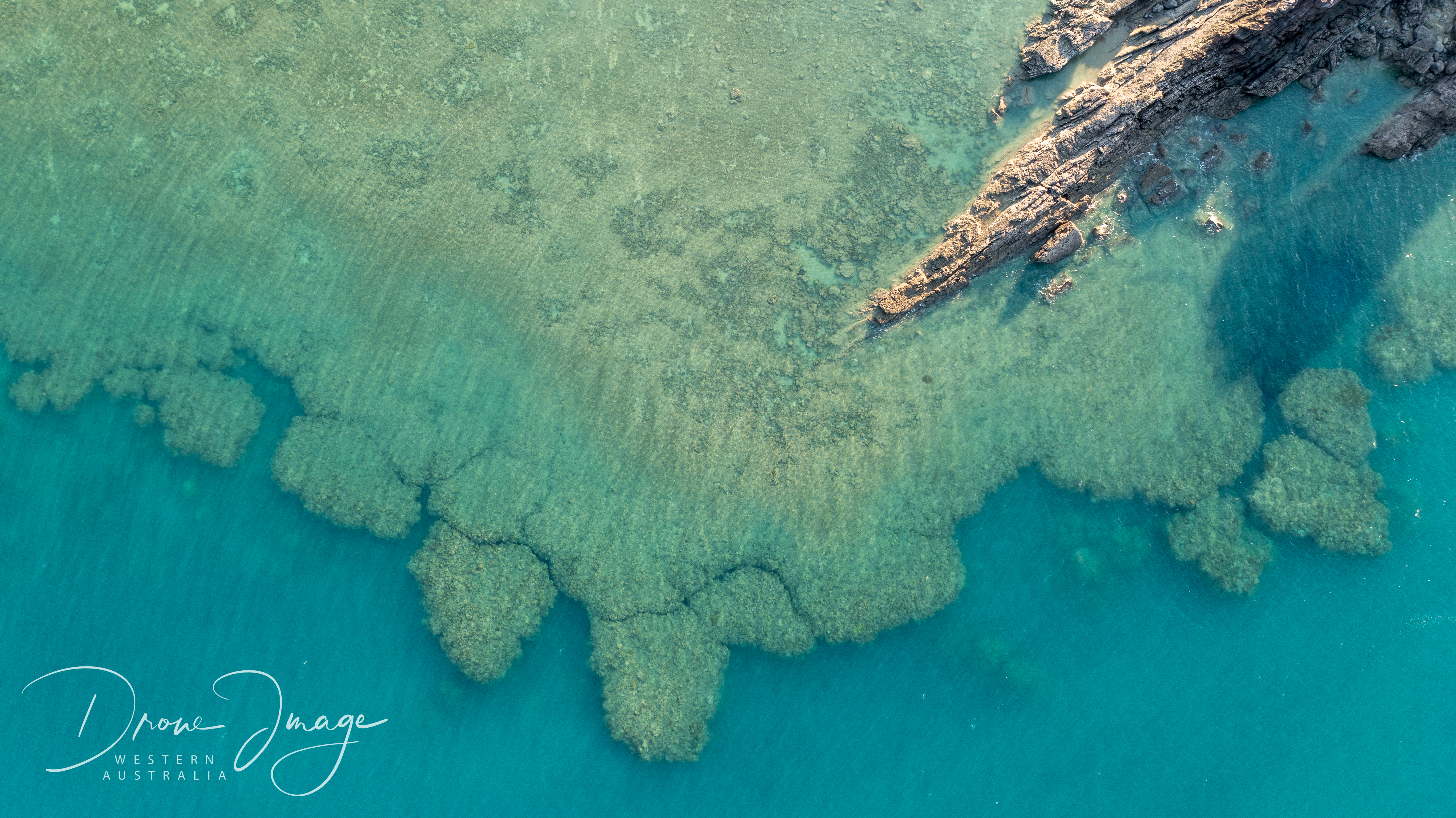 Cockatoo Island Drone Image Western Australia