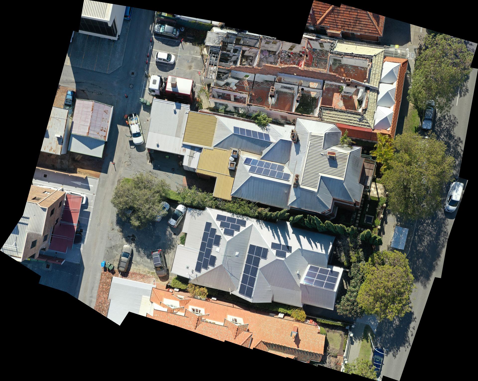 Drone Commercial Building Site Maps